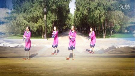 馨与天广场舞 原创舞蹈《天路》团队版 附背面演示 杨艺応子