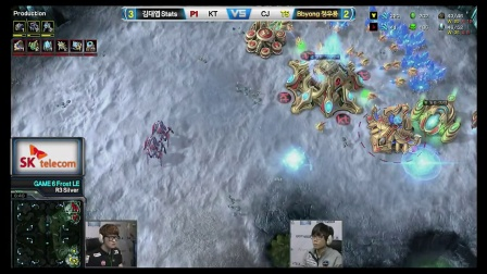 [SPL2014]第三轮半决赛 KT vs CJ Set6 Stats vs Bbyong PvT