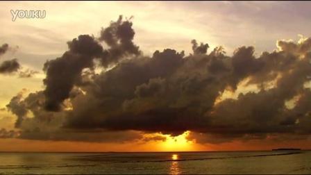 海面日落 晚霞彩霞 云层光线 霞光万丈 高清实拍视频素材