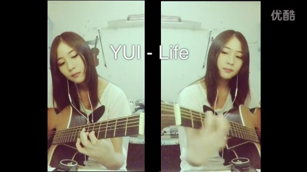 YUI cover LIFE guitar TheMijungJM