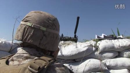 美军空地联络演习_FA18,A-10,训练炸弹,机炮实弹