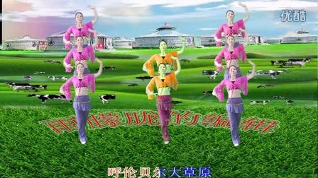 广场舞呼伦呗尔大草原