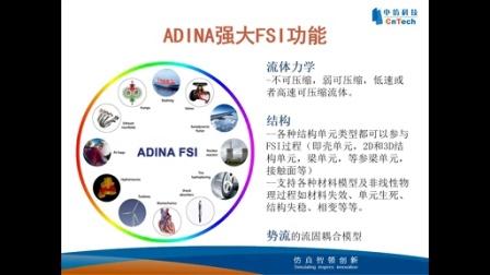 中仿ADINA Multiphysic多物理场仿真技术应用