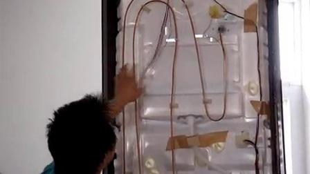 海信冰箱维修视频教程 后背管路及线路 家电维修培训 彩电维修