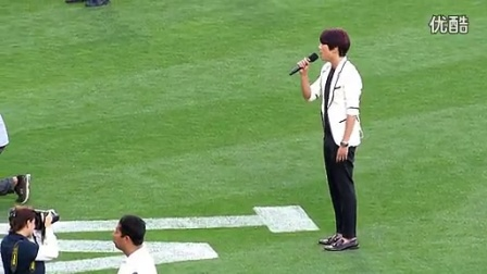 郑容和화 CNBLUE Korean Nat. Anthem Dodger Stadiu_标清