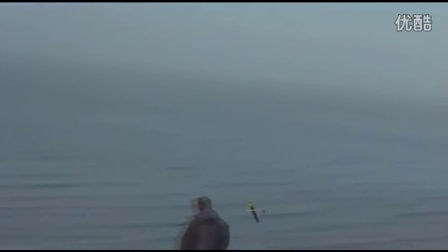 巫婆海边断崖飞行视频,有降落,特技飞行