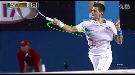 德约科维奇正手击球慢动作分析