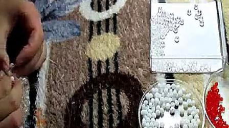 手工手串编绳编织视频教程-新娘熊视频教程-2