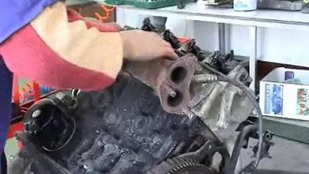 通用五菱汽车维修4-发动机的拆解