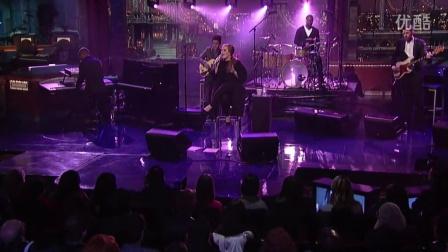 【粉红豹】阿黛尔_Adele_Chasing Pavements(Live on Letterman)