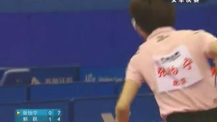 2009全运会女单决赛张怡宁VS郭跃
