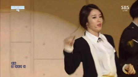 140601 T-ara朴智妍--一分一秒 SBS人气歌谣 1080p现场版 tara