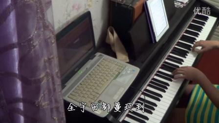 TFBOYS《魔法城堡》钢琴_tan8.com