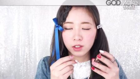 小兔子粉红眼妆妆容(改编)