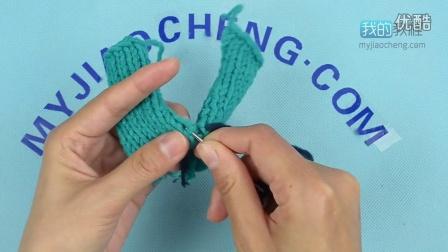 253下针的左右片缝合-编织小屋毛衣编织视频教程最新花样大全