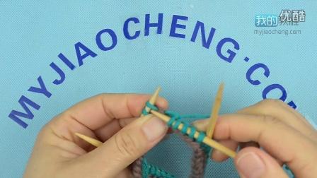 281别线起针圈织超漂亮的手工钩织
