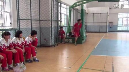 【赛前花絮1】贵阳一中新世界国际学校2014篮球总决赛