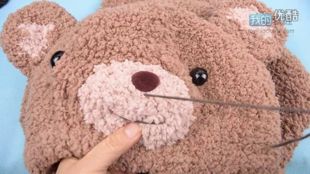 123熊鼻子狗鼻子线的缝法编织款式