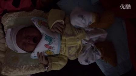 许海贝出生第三天