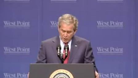 2002年美国总统布什在西点军校毕业典礼上的演讲