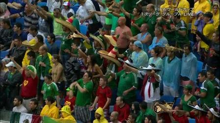 【TV】2014FIFAワールドカップ グループA メキシコ×カメルーン