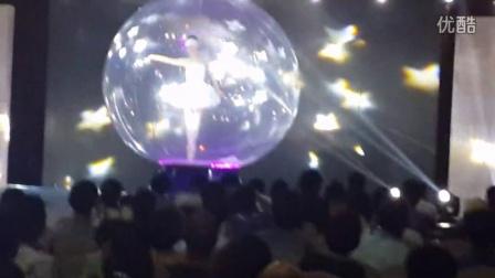 凯舟文化 赭山购物2014年品牌时尚风云会魔幻八音盒水晶芭蕾