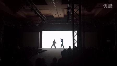 凯舟文化 赭山购物2014年品牌时尚风云会人影互动秀
