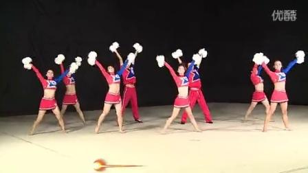 2014第二套全国啦啦操中学组花球