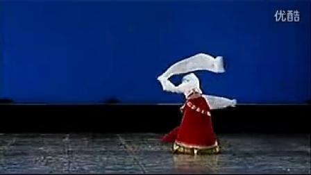 王聪《卓玛》藏族舞组合-北京舞蹈学院_高清_baofeng