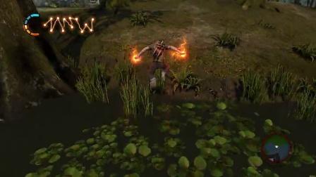 天然卷发《声名狼藉2》邪恶线游戏流程视频第二期(无解说)