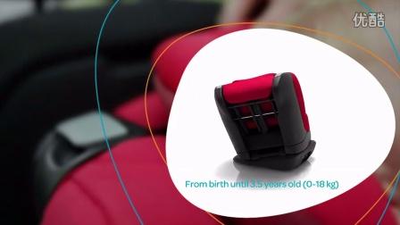 荷兰迈可适Maxi-Cosi Opal 欧宝儿童汽车座椅的安装与使用