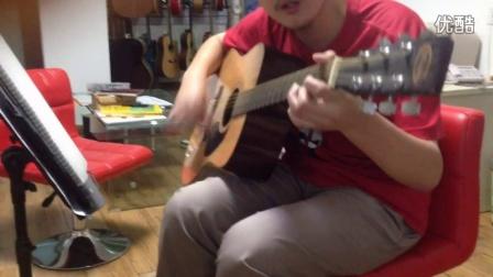 学员弹唱 关木 红橘子吉他培训 朝阳丰台大兴暑假吉他培训