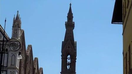意大利-奥地利-瑞士-法国,欧洲10日游 16:佛罗伦萨圣十字教堂的钟声