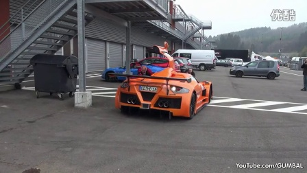 Gumpert Apollo Sport - Loading into a Truck!