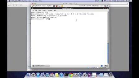 Linux软件RAID的配置