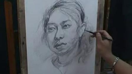 格式工厂北京深蓝工作室教学案例精解素描头像_标清