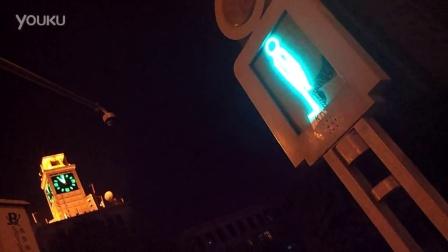 20140101_西安钟楼附近 真的会走的交通灯