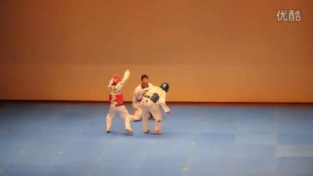 【粉红豹】是格斗还是跳舞?超搞笑的韩国跆拳道对战现场!