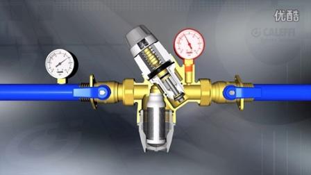 可视调节型减压阀