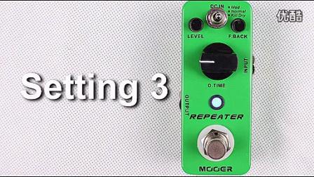 【弦动我心琴行】Mooer Repeater Digital Delay 延时效果器