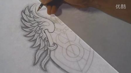 Taurus Tattoo Design - Speed Drawing
