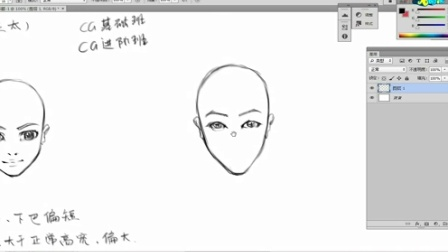 人物头像基础之第三章:理想化男性头像之少年男清秀男阴险男 名动漫原画插画教学视频