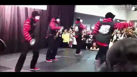 美国街舞天团JabbaWockeeZ赌城演出超级给力