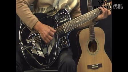 荣御乐器 312试听 布鲁斯丽声滑棒吉他