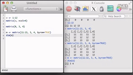 R 1.6 - Building and Subsetting Matrices