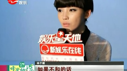 赵薇杨子姗师徒不和? SMG新娱乐在线 20140703 标清