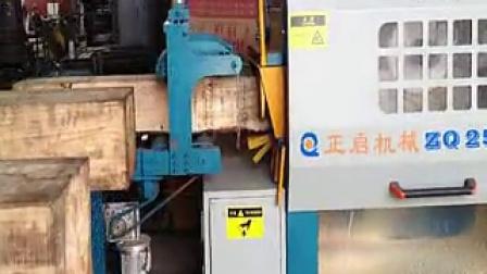 全自动方木多片锯250-400 多片锯 佛山市南海区正启机械厂