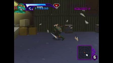 忍者神龟PC单机3D7游戏视频
