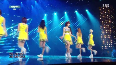 【OC】140706.SBS.人气歌谣. AOA - Short Hair