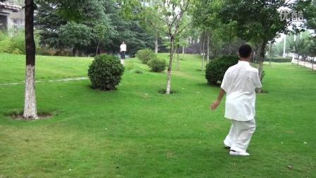 陈式太极拳精要十八式------碧沙岗公园贺斌老师演练
